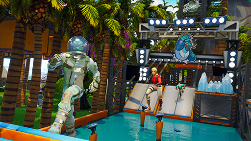 Splash In, Aquatic Parkour Park - Fortnite Creative